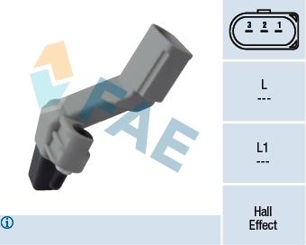 Capteur d'angle FAE 79177 (X1)
