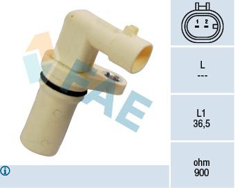 Capteur d'angle FAE 79194 (X1)