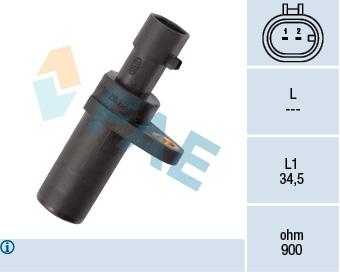 Capteur d'angle FAE 79195 (X1)