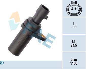 Capteur d'angle FAE 79196 (X1)