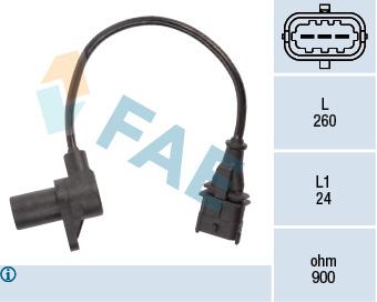 Capteur de regime FAE 79197 (X1)