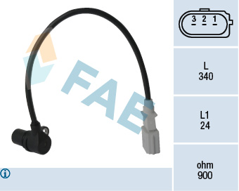 Capteur d'angle FAE 79198 (X1)