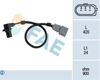 Capteur d'angle FAE 79199 (X1)