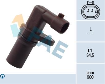 Capteur d'angle FAE 79200 (X1)