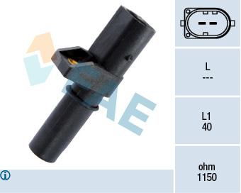 Capteur d'angle FAE 79201 (X1)