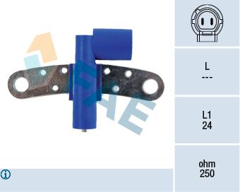 Capteur d'angle FAE 79215 (X1)
