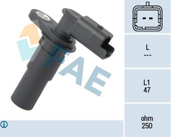 Capteur d'angle FAE 79238 (X1)