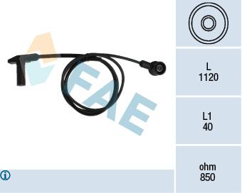 Capteur d'angle FAE 79242 (X1)