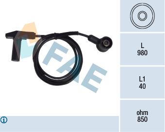 Capteur d'angle FAE 79243 (X1)