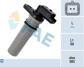 Capteur d'angle FAE 79256 (X1)