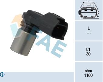 Capteur de position FAE 79315 (X1)