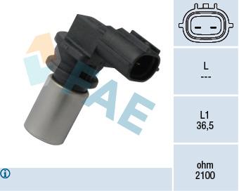 Capteur d'angle FAE 79316 (X1)