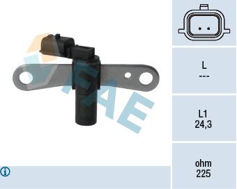 Capteur d'angle FAE 79328 (X1)