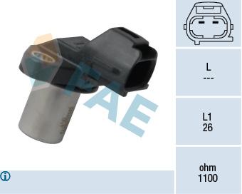 Capteur d'angle FAE 79353 (X1)