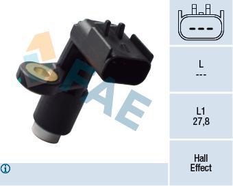 Capteur d'angle FAE 79415 (X1)