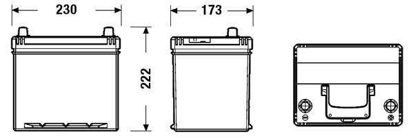 Batterie FULMEN FB604 (X1)