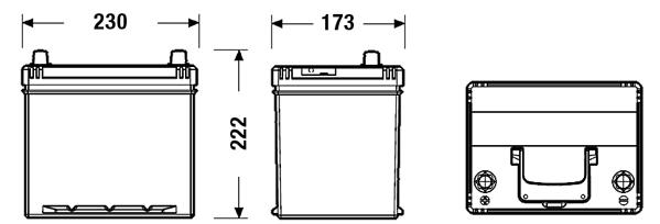 Batterie FULMEN FB605 (X1)