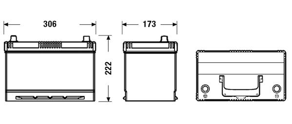Batterie FULMEN FL955 (X1)