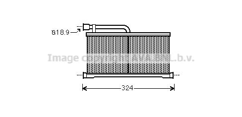 Radiateur de chauffage AVA QUALITY COOLING AI6296 (X1)