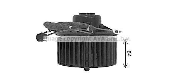 Moteur de ventilateur de chauffage AVA QUALITY COOLING AI8425 (X1)