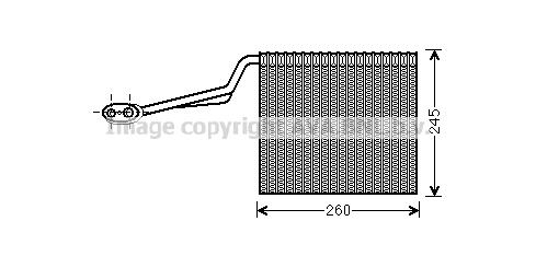 Evaporateur AVA QUALITY COOLING AIV315 (X1)