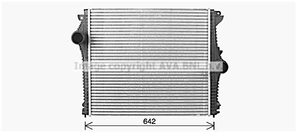 Intercooler radiateur de turbo AVA QUALITY COOLING AL4148 (X1)
