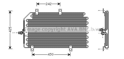 Condenseur / Radiateur de climatisation AVA QUALITY COOLING ALA5065 (X1)