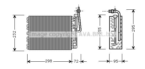 Evaporateur AVA QUALITY COOLING ALV008 (X1)