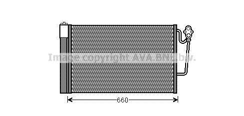 Condenseur / Radiateur de climatisation AVA QUALITY COOLING BWA5363D (X1)