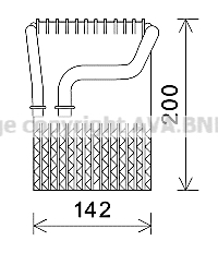 Evaporateur AVA QUALITY COOLING BWV433 (X1)