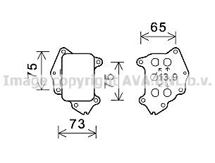 Radiateur huile AVA QUALITY COOLING CN3309 (X1)