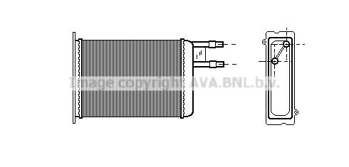 Chauffage AVA QUALITY COOLING CN6128 (X1)