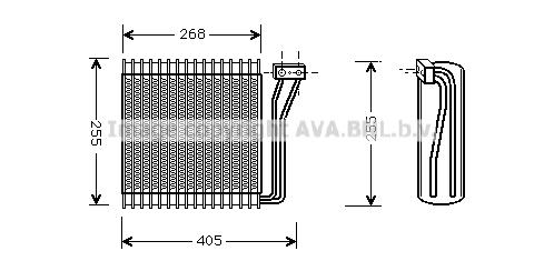 Evaporateur AVA QUALITY COOLING CRV041 (X1)