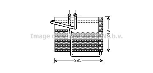 Evaporateur AVA QUALITY COOLING CRV042 (X1)