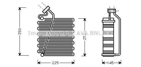 Evaporateur AVA QUALITY COOLING CRV043 (X1)