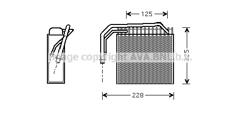 Evaporateur AVA QUALITY COOLING CRV061 (X1)