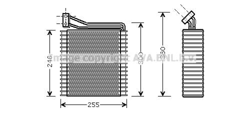 Evaporateur AVA QUALITY COOLING CRV089 (X1)