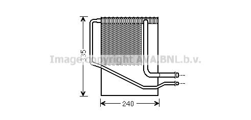 Evaporateur AVA QUALITY COOLING CRV099 (X1)