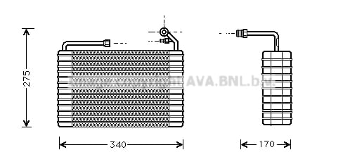 Evaporateur AVA QUALITY COOLING CTV001 (X1)