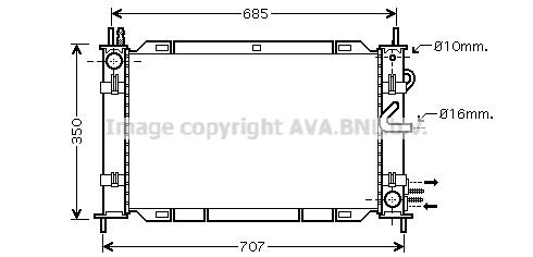 Module de refroidissement AVA QUALITY COOLING FDM388 (X1)