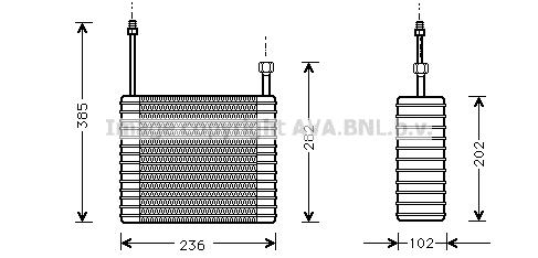 Evaporateur AVA QUALITY COOLING FDV021 (X1)