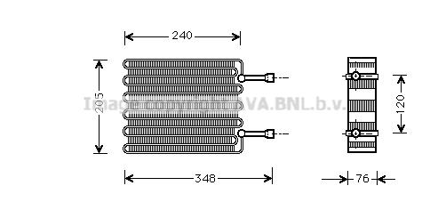 Evaporateur AVA QUALITY COOLING FDV022 (X1)