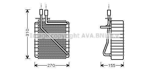 Evaporateur AVA QUALITY COOLING FDV348 (X1)