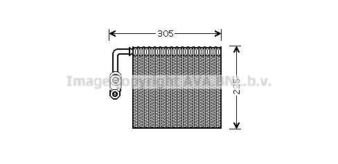 Evaporateur AVA QUALITY COOLING FDV426 (X1)