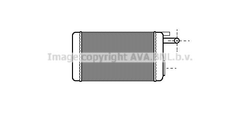 Radiateur de chauffage AVA QUALITY COOLING FTA6106 (X1)