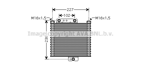 Radiateur huile AVA QUALITY COOLING HY3151 (X1)