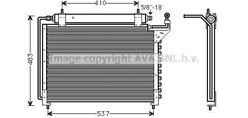 Condenseur / Radiateur de climatisation AVA QUALITY COOLING JR5013D (X1)