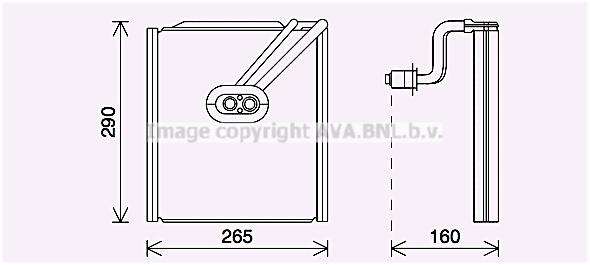 Evaporateur AVA QUALITY COOLING KAV294 (X1)