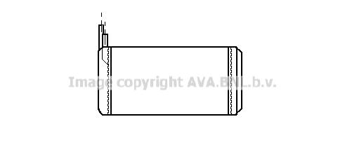 Radiateur de chauffage AVA QUALITY COOLING LC6032 (X1)