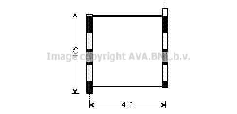 Radiateur de refroidissement AVA QUALITY COOLING MC2012 (X1)